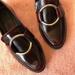 ASOS Burgundy Ring Loafers